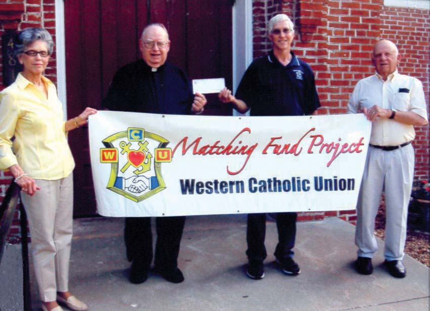 Funds Raised for IC Church, St. Mary, MO