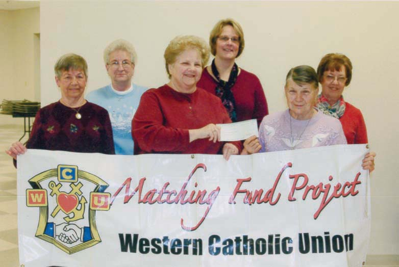 Donation to St. Bernadette's Sodality